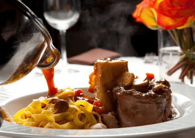 Piero's Italian Restaurant in Las Vegas, NV Osso Bucco DiRoNA Awarded Restaurant