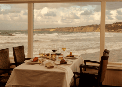 The Marine Room at La Jolla Beach & Tennis Club in La Jolla, CA Dinner Reservations DiRoNA Awarded Restaurant