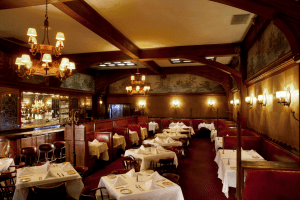 The Musso & Frank Grill in Los Angeles, CA Formal Dining Room DiRoNA Awarded Restaurant