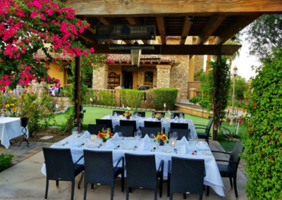 La Spiga Ristorante Italiano in Palm Desert, CA Dining Alfresco DiRoNA Awarded Restaurant