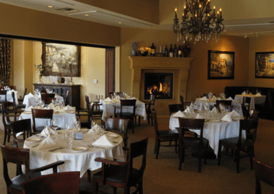 La Spiga Ristorante Italiano in Palm Desert, CA Dining Room DiRoNA Awarded Restaurant