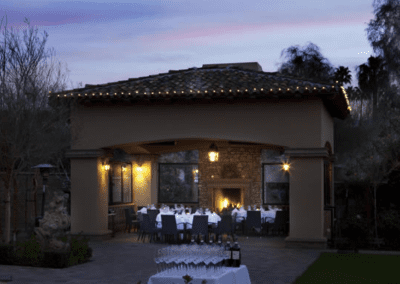 La Spiga Ristorante Italiano in Palm Desert, CA Gazebo Dining DiRoNA Awarded Restaurant