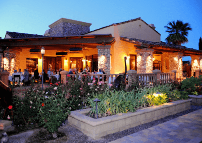 La Spiga Ristorante Italiano in Palm Desert, CA Patio Dining DiRoNA Awarded Restaurant