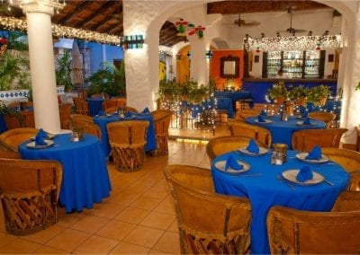 Pancho's Backyard in Cozumel, MX Dining Room DiRoNA Awarded Restaurant