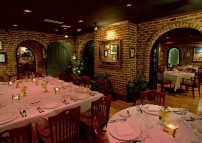 Second Empire Restaurant & Tavern Raleigh, NC Dining Room DiRoNA Awarded Restaurant