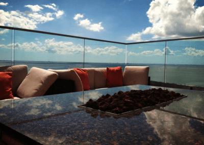 Armani's at the Grand Hyatt in Tampa Bay, FL Terrace Views DiRoNA Awarded Restaurant