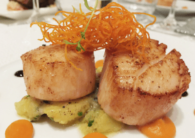 The Sea by Alexander's Steakhouse in Palo Alto, CA Scallops DiRoNA Awarded Restaurant