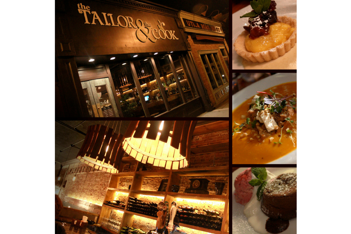 The Tailor And The Cook Dirōna Awarded Restaurant Utica Ny