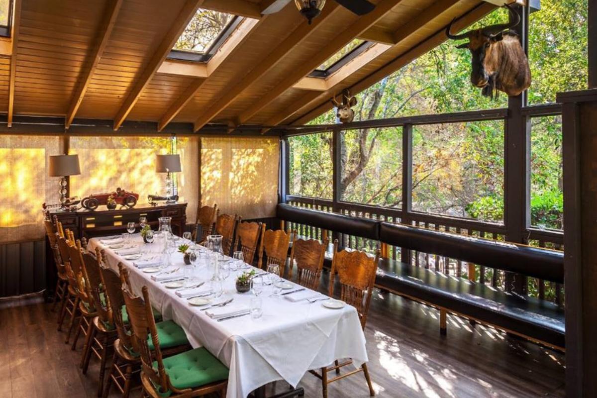 Saddle Peak Lodge Dirōna Awarded Restaurant Calabasas Ca