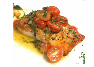 Dorsia Restaurant in Boca Raton, FL Salmon DiRoNA Awarded Restaurant