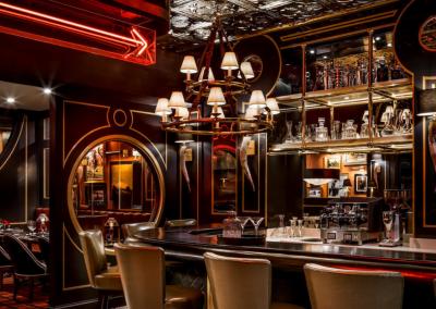 Harry's Steakhouse in Toronto, ON _ Art Deco Bar _ DiRoNA Awarded Restaurant