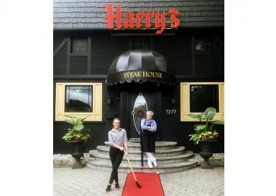 Harry's Steakhouse in Toronto, ON _ Entrance _ DiRoNA Awarded Restaurant