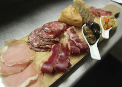 Verdicchio Ristorante Enoteca in Sudbury, ON _ Charcuterie Board _ DiRoNA Awarded Restaurant