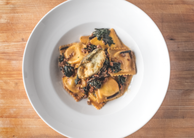 Verdicchio Ristorante Enoteca in Sudbury, ON _ Raviolli _ DiRoNA Awarded Restaurant