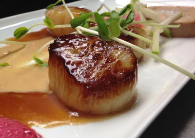 Verdicchio Ristorante Enoteca in Sudbury, ON _ Scallops _ DiRoNA Awarded Restaurant