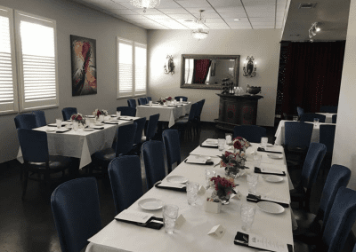 Next Bistro in Colleyville, CT Dining Room DiRoNA Awarded Restaurant