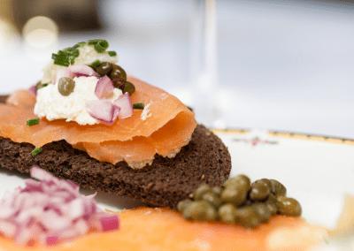 The Milton Inn Restaurant in Sparks Glencoe, MD Smoked Salmon DiRoNA Awarded Restaurant
